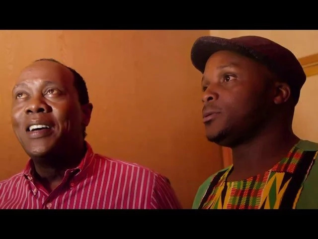 Jeff Koinange and Jalas hosted Babu Owino... guess what happened in the show (video)
