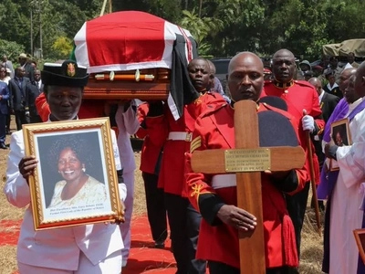 Mama Lucy Kibaki finally laid to rest