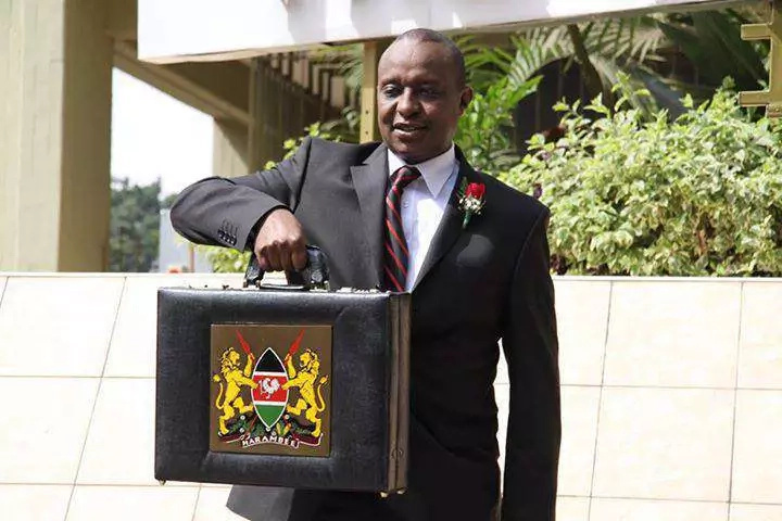 kenyan budget being read today