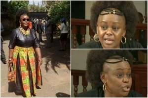 Kenyans go WILD over Millie Odhiambo's receding hairline