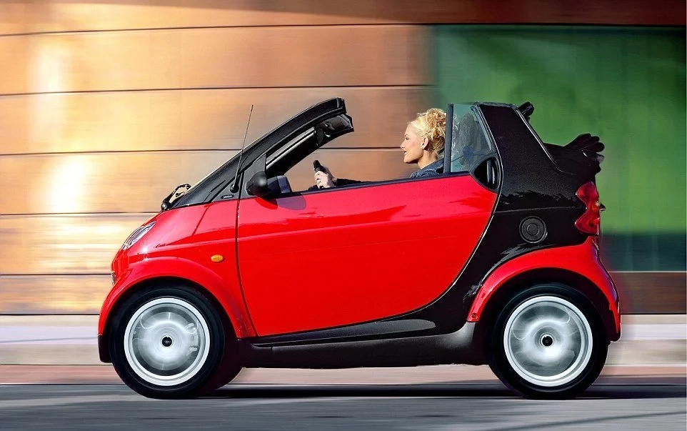 The heart is the same size as a Smartcar. Photo: Daily Mail