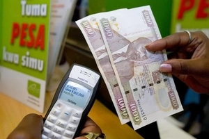 RELIEF as various Mpesa transaction costs taken down