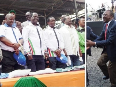 What Uhuru and Ruto have said about Raila and his NASA line up