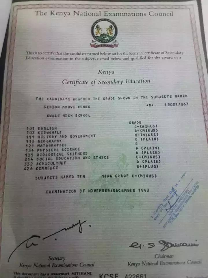 SONKO alifanikiwaje kusomea Usimamizi wa Biashara licha ya kufeli KCSE?