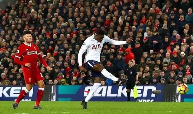 Victor Wanyama strikes a stunner as resilient Spurs grab a point at the Anfield