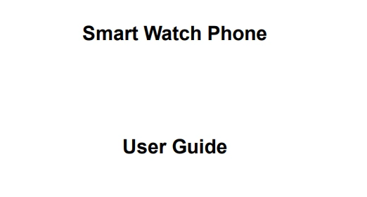 X6 smart watch manual download