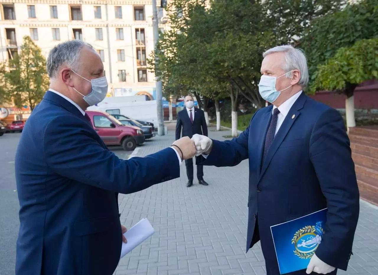 Întrevedere cu membrii Academiei de Științe a Moldovei