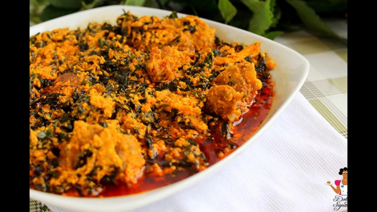 How to Prepare Nigerian Egusi Soup