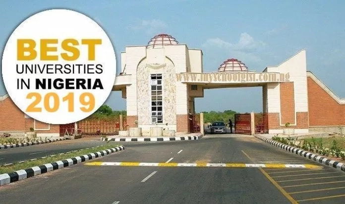 Top 100 Best Universities in Nigeria