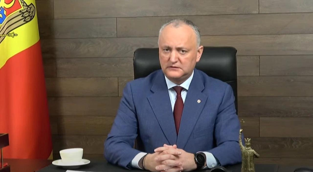 Igor Dodon spune că PSRM va respecta decizia CC din 15 aprilie