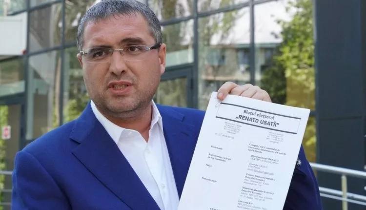 Renato Usatîi a contestat decizia CEC, care limitează posibilitatea diasporei de a vota