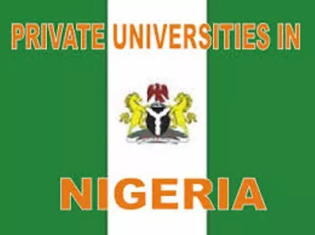 List of 75 Private Universities in Nigeria and their Websites