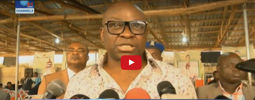 Fayose to APC? Ruling party reacts after governor's statement to leave PDP