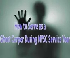 How to serve as a Ghost Corper