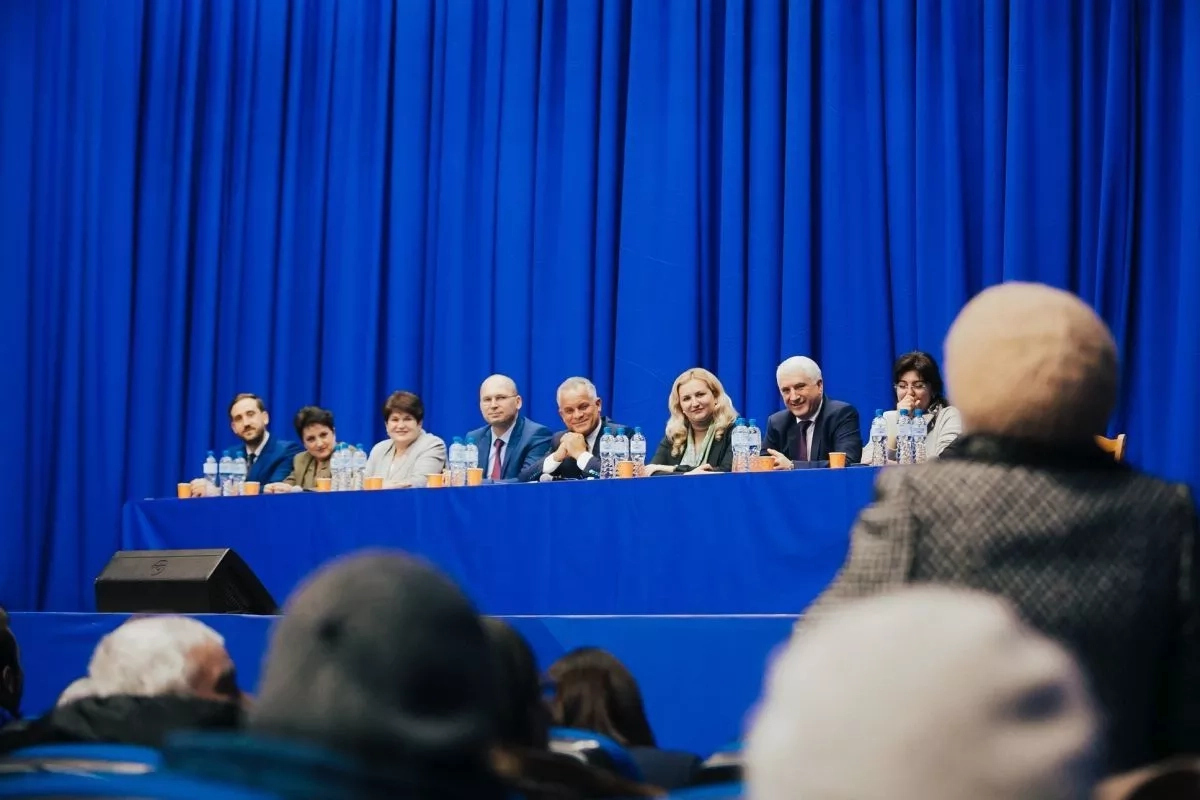 Caravana electorală a PDM, condusă de Vlad Plahotniuc, a ajuns la Nisporeni