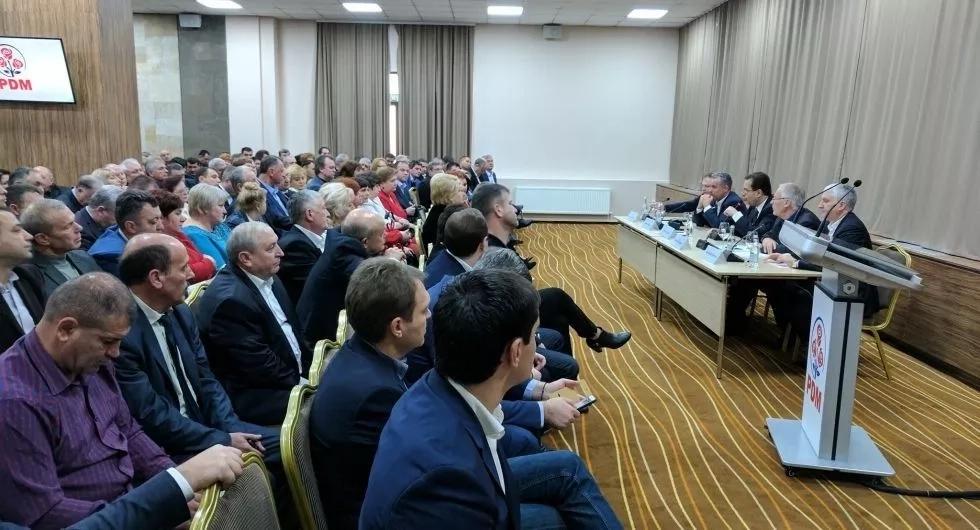 În Consiliul Politic Național al PDM s-a discutat convocarea congresului partidului
