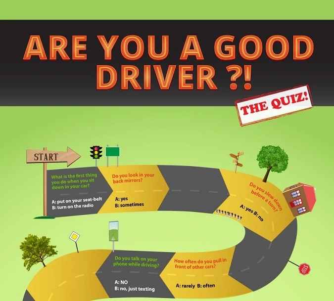 GOOD DRIVING SKILLS