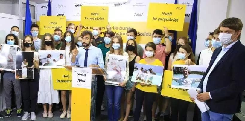 Președintele PAS Youth a fost dat în judecată de către Igor Dodon