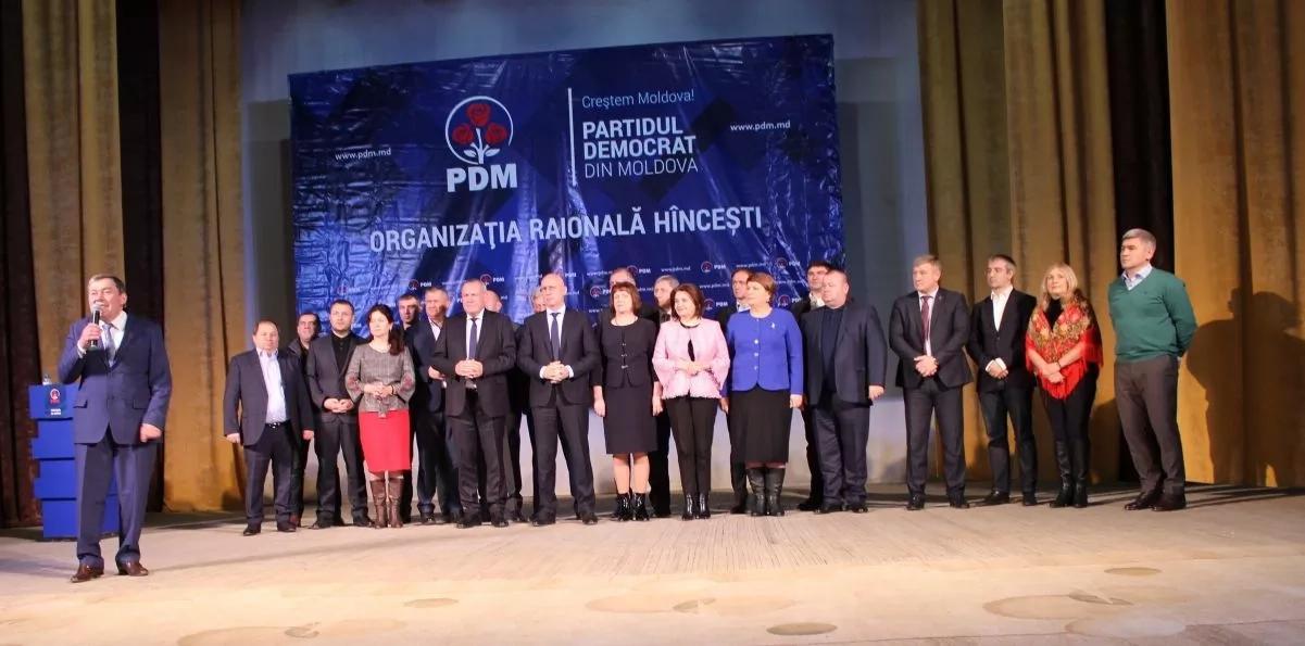 Lansarea candidatului PDM pentru Hîncești, Ion Mereuță