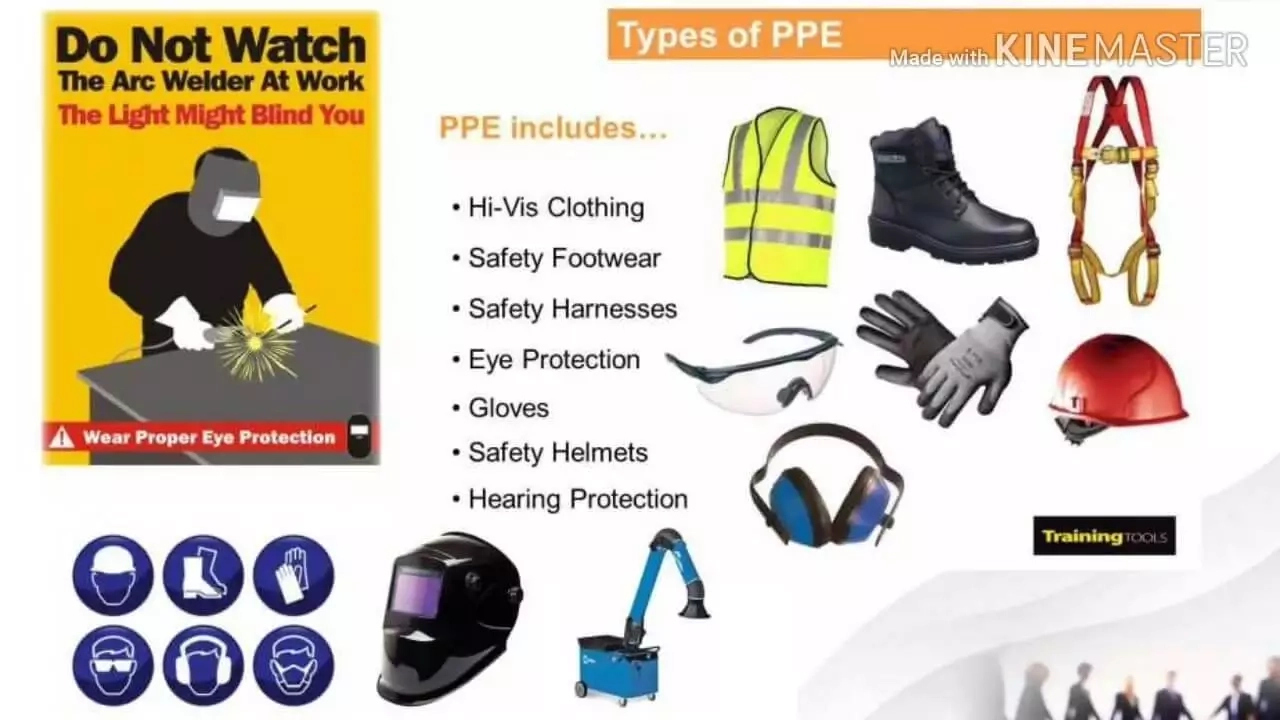 Welding personal protective equipment/clothing