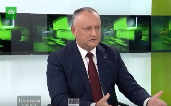 Igor Dodon face apel către concurenții electorali să discute în campanie despre lucruri concrete, tematice și nu despre politică și funcții