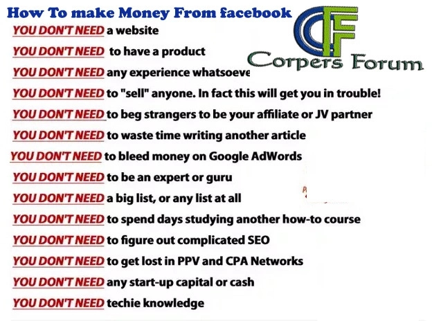 How To Make Money On Facebook In Nigeria