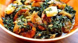 How To Cook Edikang Ikong With Tripe Meat And Spinach