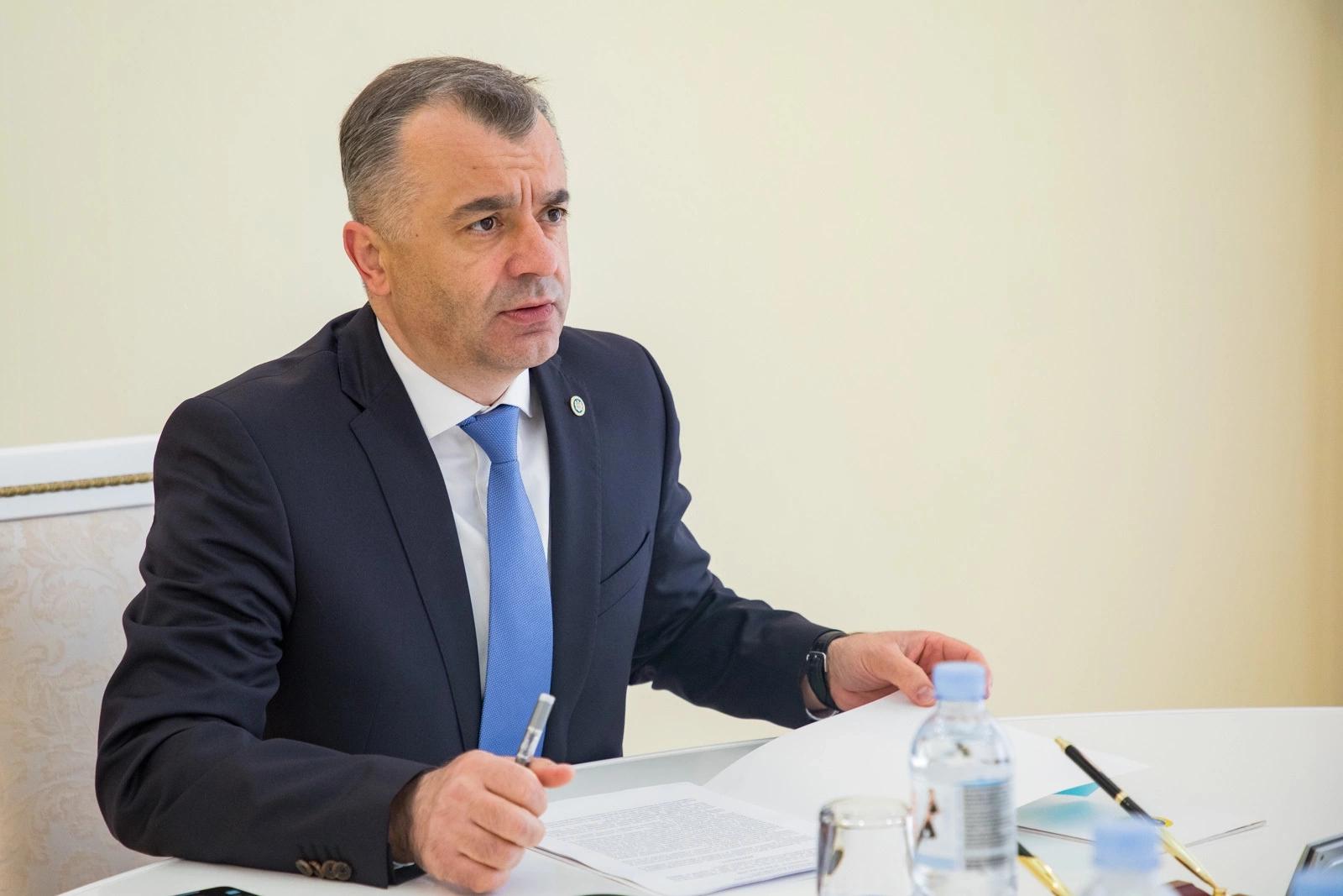 Ion Chicu, prim-ministru al Republicii Moldova