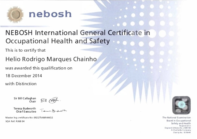 NEBOSH IGC Examination Dates for 2021 / Syllabus Guide