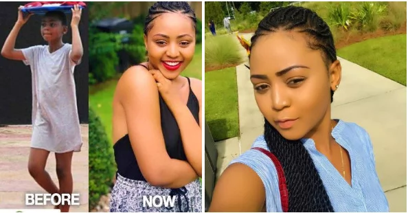16-Year-Old Actress Regina Daniels Shares Collage Of Herself From Back In The Day & Now