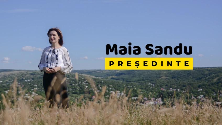 Maia Sandu – candidatul PAS la alegerile prezidențiale