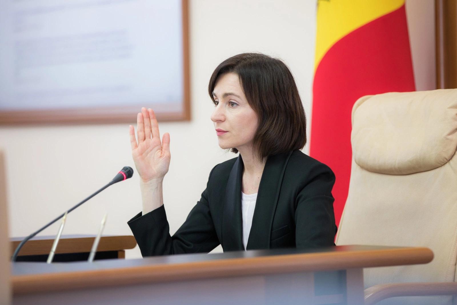 Discursul prim-ministrului Maia Sandu din cadrul ședinței Guvernului din 6 noiembrie 2019