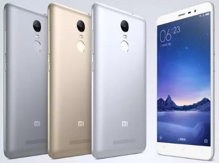 Xiaomi phones with fingerprint scanner