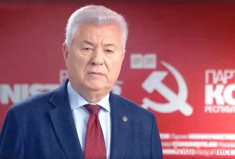 Adresarea către popor a Președintelui PCRM Vladimir Voronin