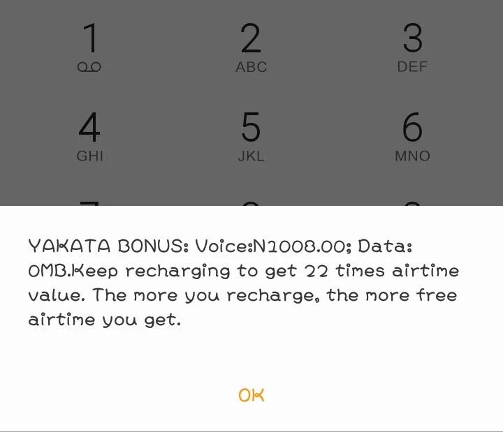 How to check glo YAKATA bonus balance
