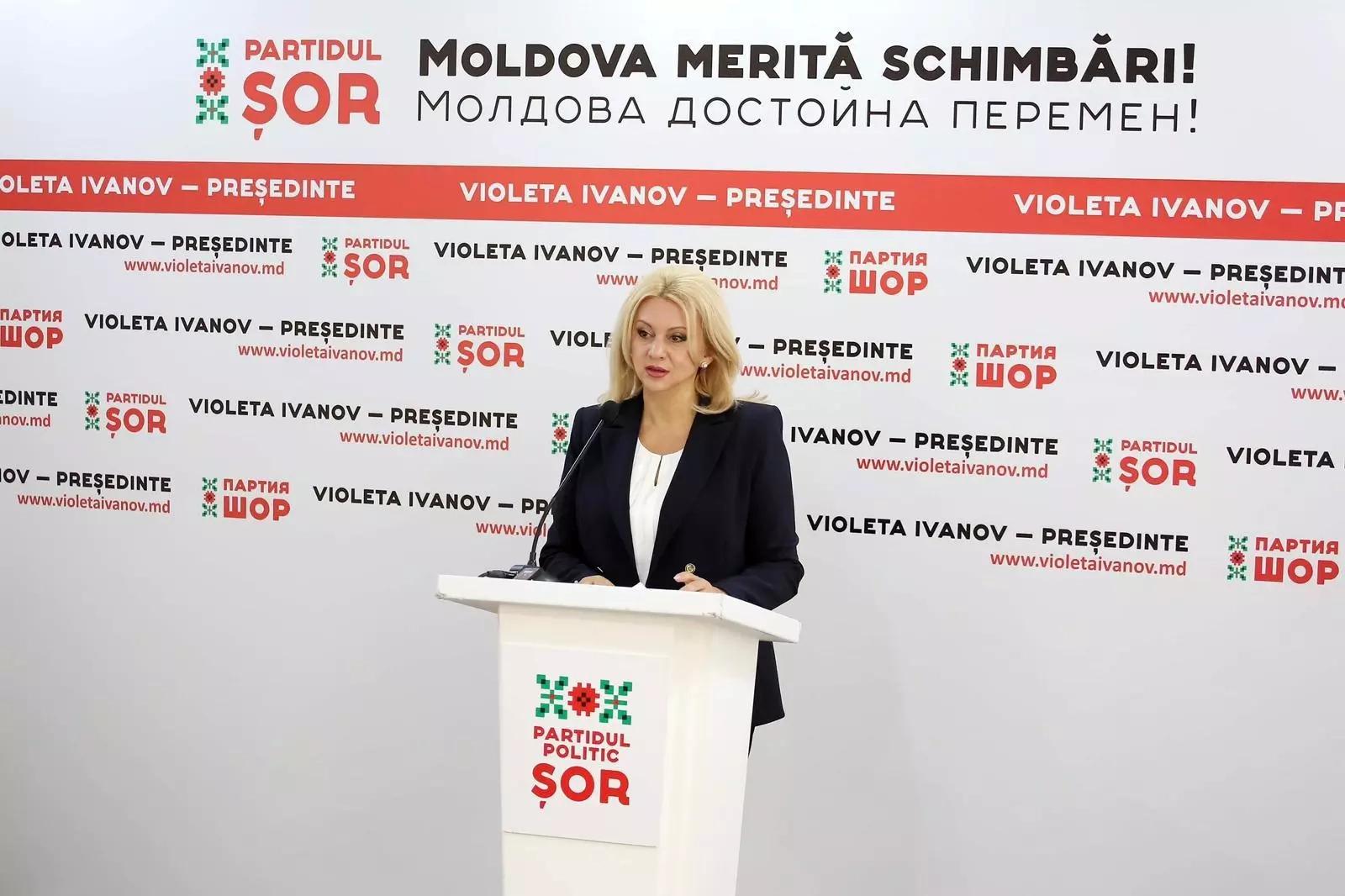 Violeta Ivanov îndeamnă partidele fără candidați să o susțină la prezidențiale