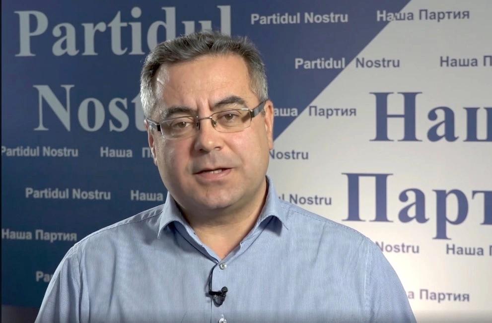 """Ilian Cașu: Noi continuăm lupta. La mulți ani, """"Partidul Nostru""""!"""