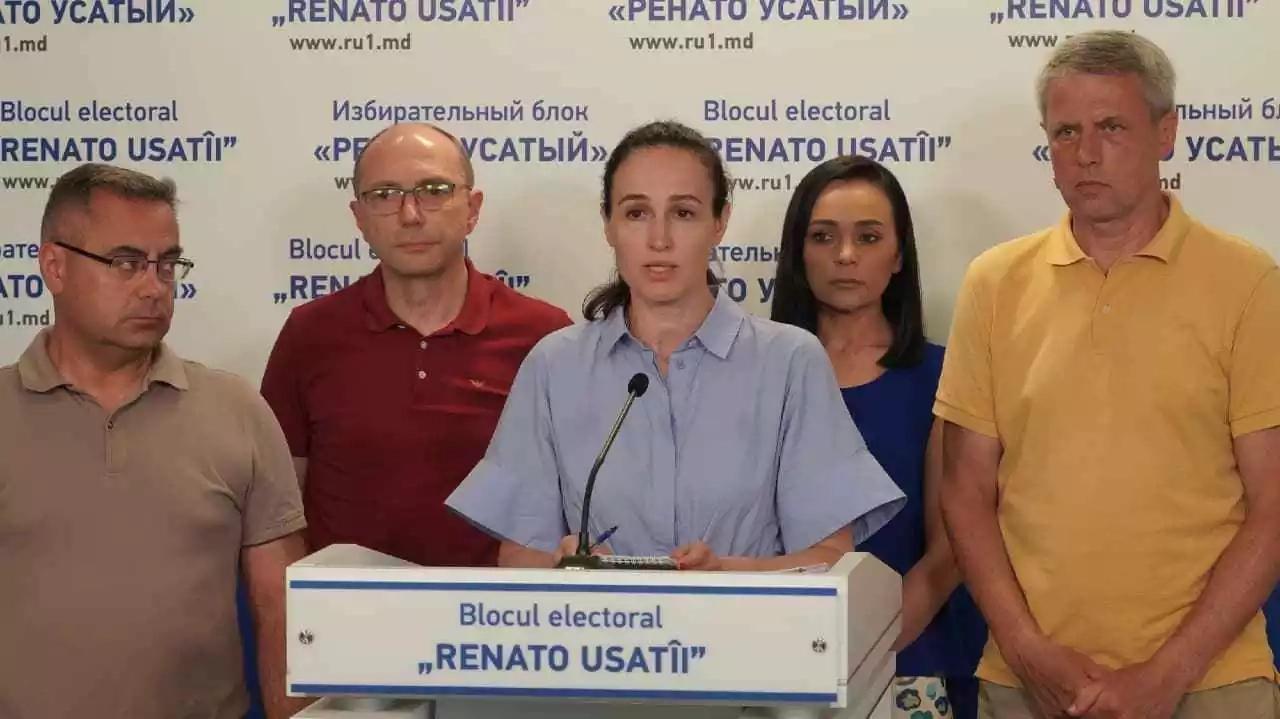 """Blocul electoral """"Renato Usatîi"""" prezintă probe video de corupere a alegătorilor"""