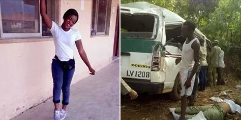 See photos of the female NYSC corper who died today in a motor accident along Taraba-Benue road.!! 😥😥😥