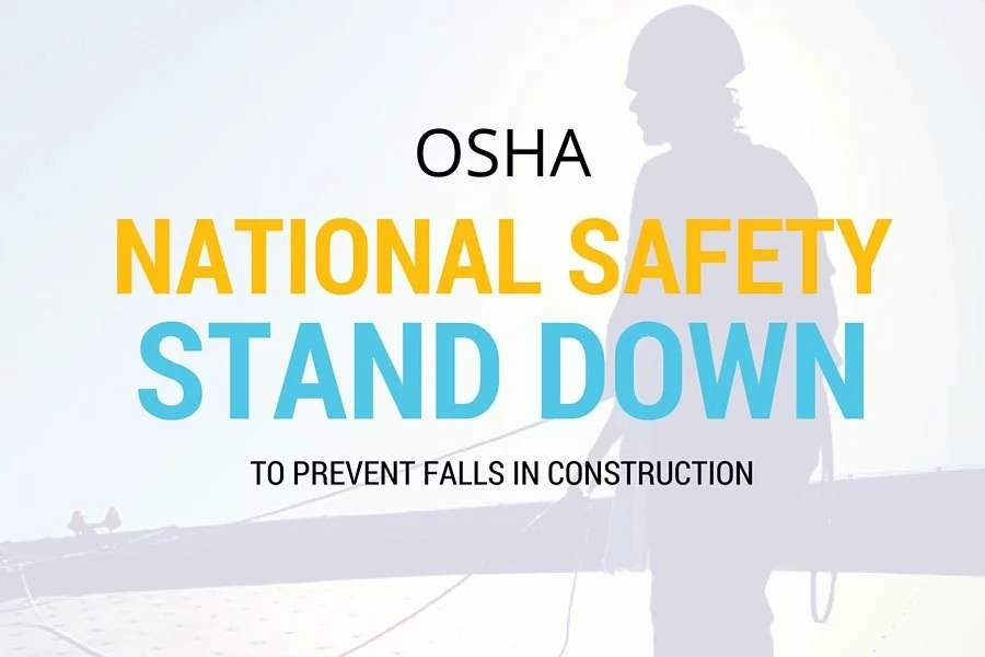 Safety stand down - Meaning