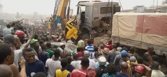 Abuja Truck Accident - 1 Killed, 4 Injured