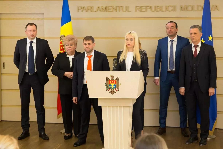 """Partidul """"Șor"""" a constituit fracțiunea parlamentară"""