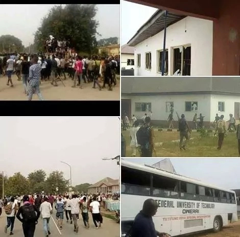 FUTO Closed Indefinitely After Students RIOT Then This Happened