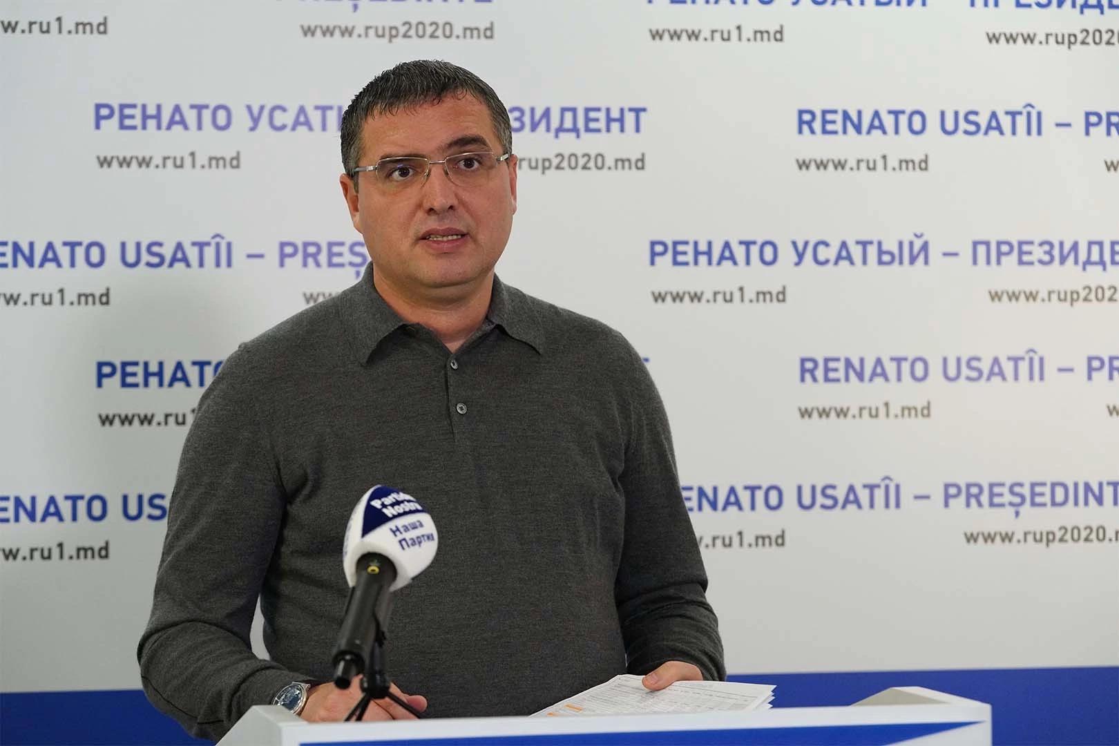 Conducerea MAI a dat indicații să fie făcute presiuni asupra susținătorilor lui Renato Usatîi