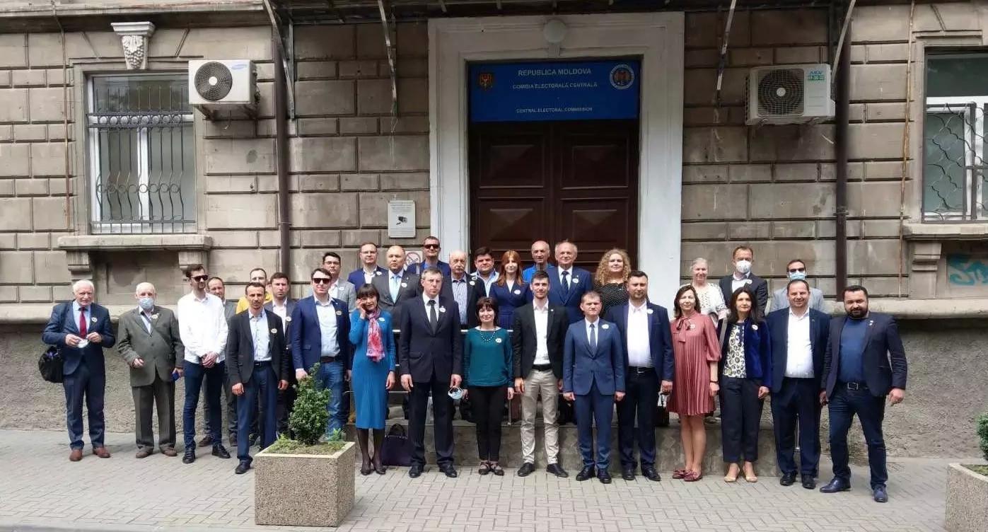 AUR a depus listele de candidați pentru alegerile parlamentare din Basarabia