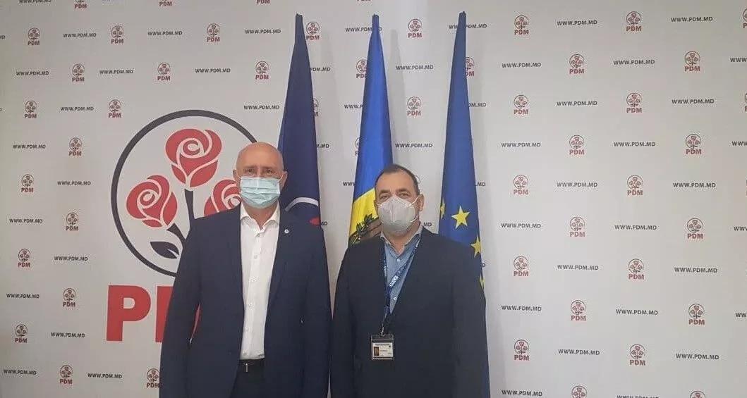 Pavel Filip, întrevedere cu Tamas Meszerics, șeful Misiuni OSCE/ODIHR de observare a alegerilor parlamentare anticipate