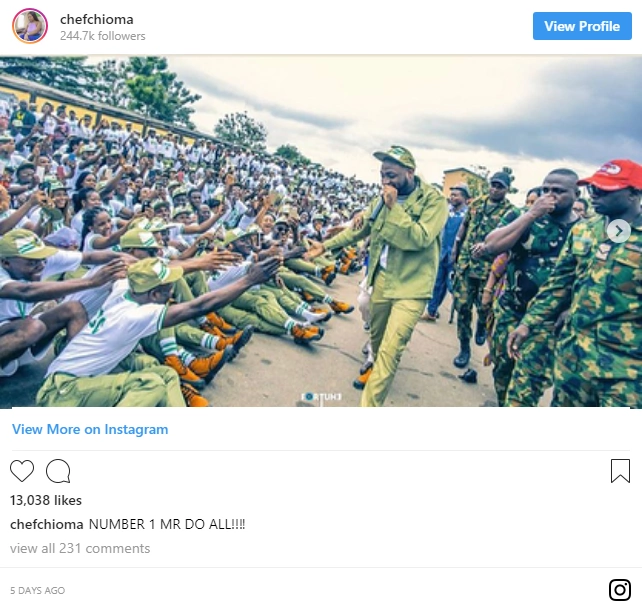 Davido NYSC Camp Diary [Photos] Day 8 - nyscnews