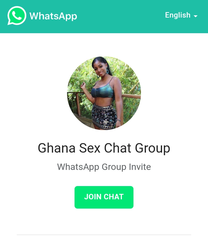 Ghana Whatsapp sex chat group links