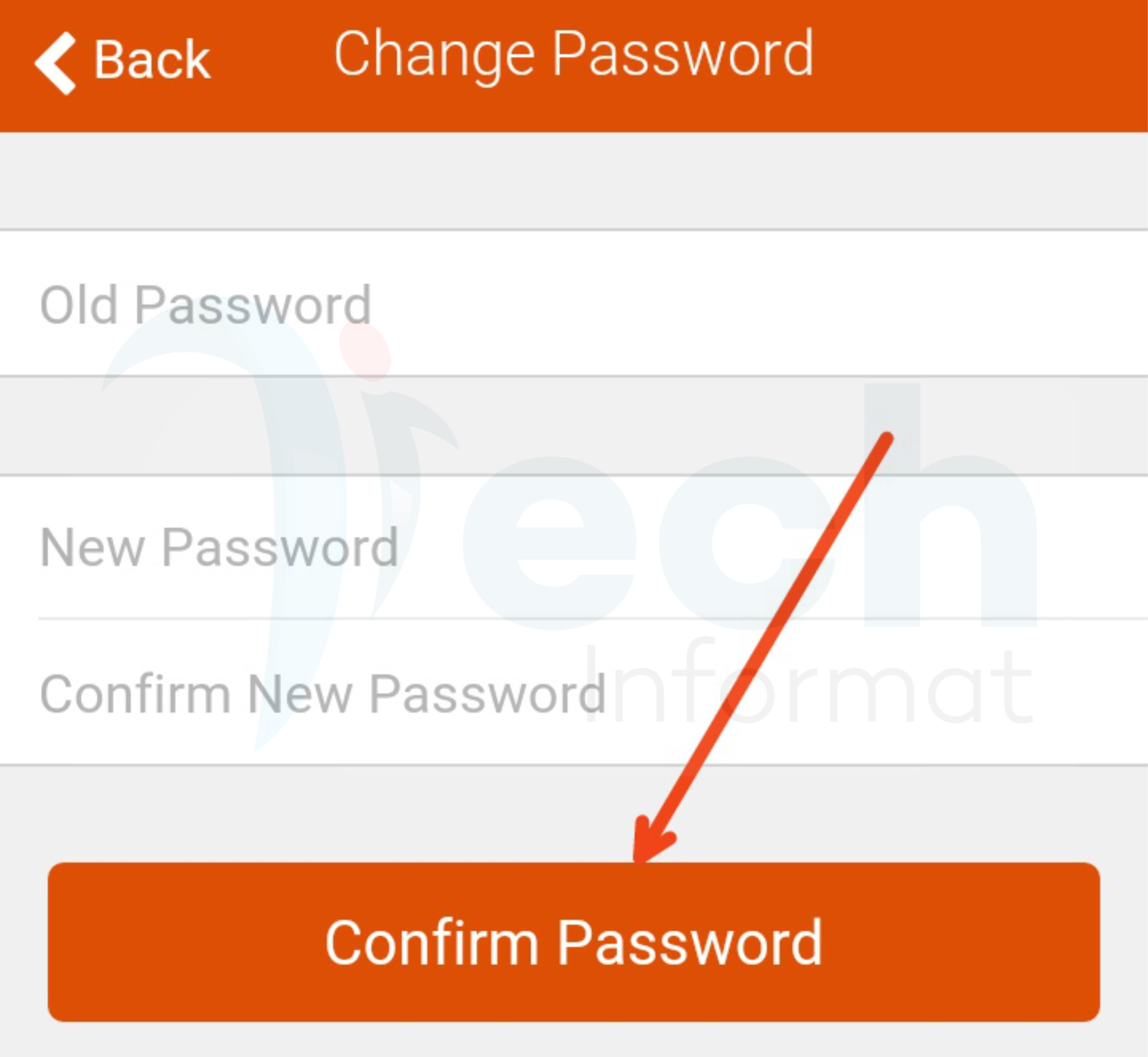 Change your GTBank internet banking password