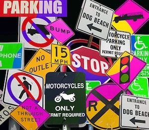 39 Major traffic offences all road users must know